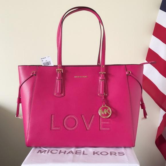 65e33853c4a1 Michael Kors Bags | Nwt Large Voyager Tote | Poshmark